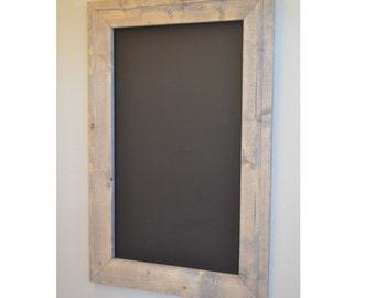 Large Rustic Chalkboard, Farmhouse decor, Large Chalkboard, wedding Sign, Framed Chalkboard, Gift for Her, rustic home Decor, rustic wedding