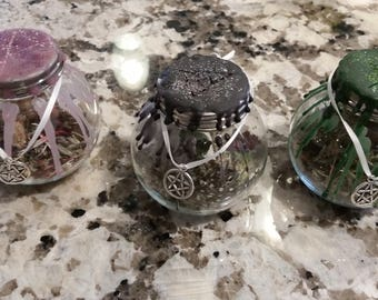 Made to order Spell Jar for manifesting your intentions and dreams