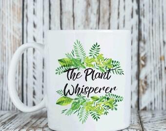Gift for gardener, The plant whisperer mug, gardening gift (M239)