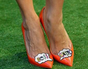 Boss Lady - shoe clips