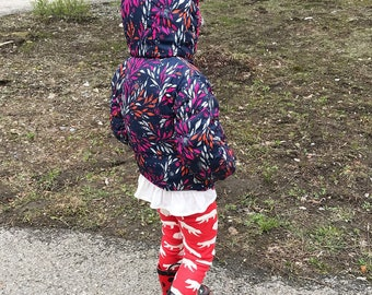 Camp Out Toddler Pants, Leggings, Girl, Boy, Red, Woodland, Gift, Bears, Newborn