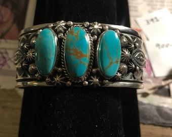 Kings Manassa turquoise bracelet