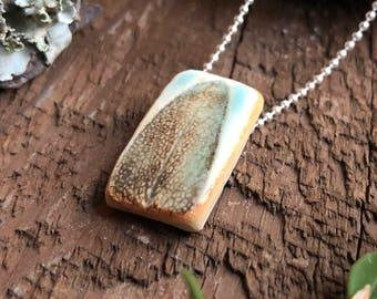 Sage Pendant Necklace - Choose your chain