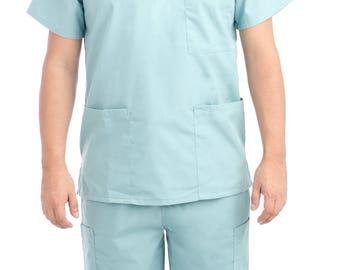 Mint Medical Scrub Uniform Set