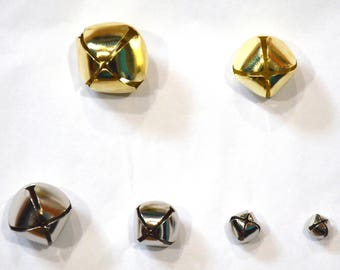 Collar Add Ons - Gold and Silver Jingle Bells