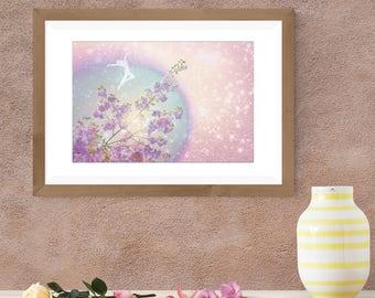 Art Print- Harmony Lightcode- Dream Art Print- Home Decor- Wall Art- Gift- Artwork
