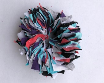 Cotton Scrunchie- P/P/T/G/W/B