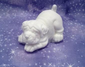 White Bulldog soap