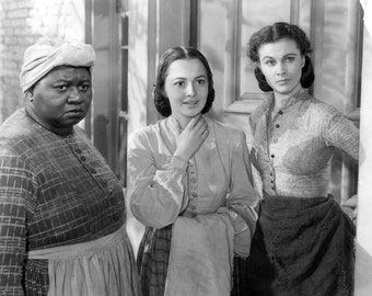 Olivia deHavilland Melanie Hamilton of Gone With the Wind Hand- Autographed page Signed w Cert of Auth + pic Vivien Leigh Hattie McDaniel