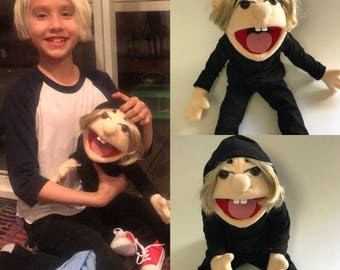 My lookAlike Puppet doll your child made into a muppet american made.