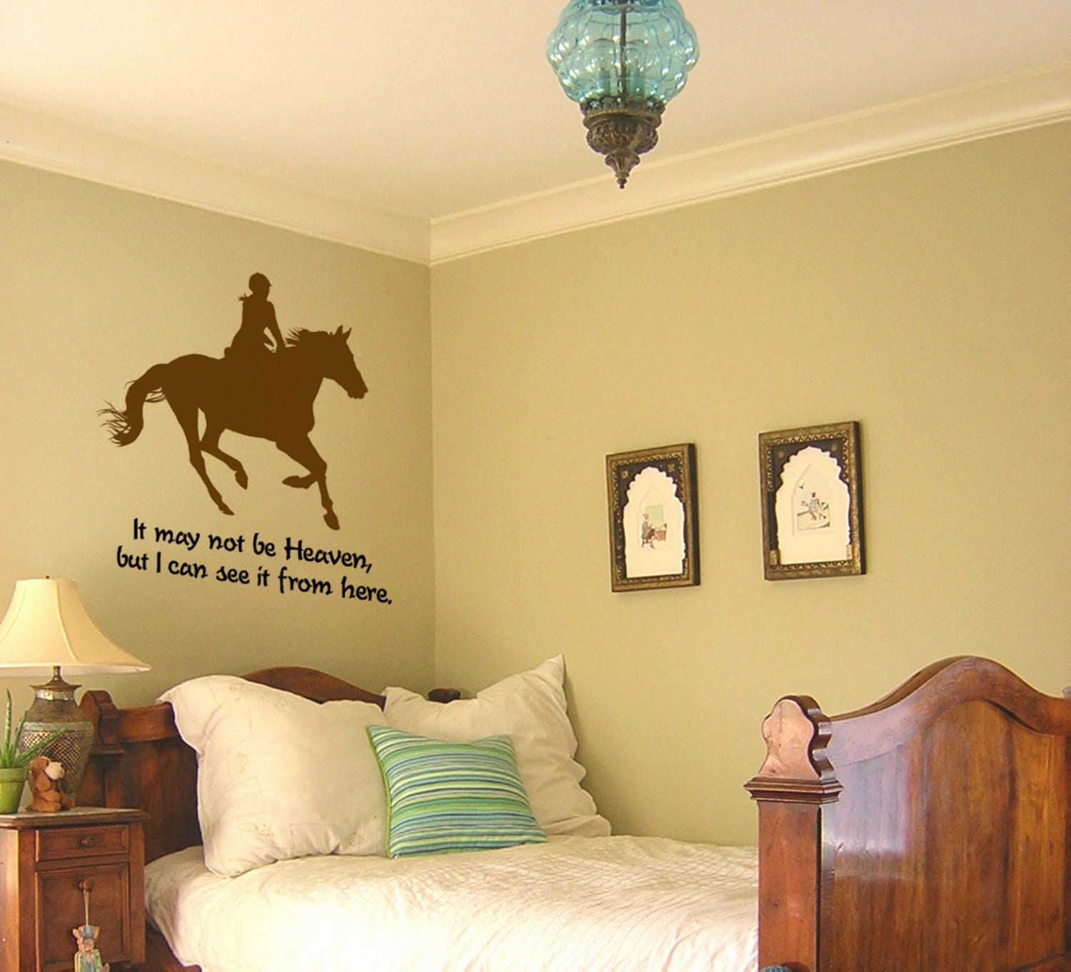 Horse decal-Horse quote decal-Vinyl wall sticker-Horse wall