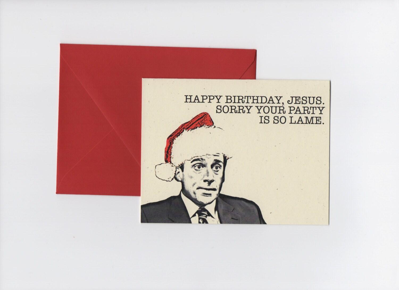 Happy birthday jesus michael scott the office christmas zoom bookmarktalkfo Images