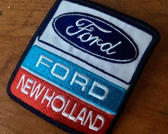 New Old Stock Ford New Holland Patch. NOS. Canada.