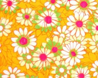 Modern Floral Fabric, Ashleigh's Garden by Studio E Fabrics, E60-1373 Daisies in Yellow