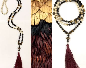 Mahatma Traditional Mala Necklace