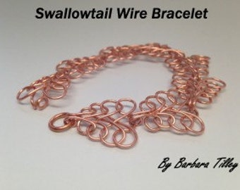 Tutorial Video Swallow Tail Bracelet