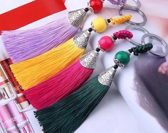 1pcs. 13.5cm tassels earrings necklace bracelet bookmark bag ornaments pendants diy material