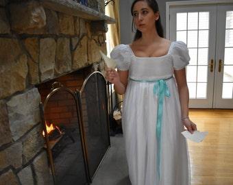 Eliza Schuyler Dress; Burn Dress; Hamilton Costume; Eliza Burn Gown; Pride and Prejudice; 19th Century Gown; Elizabeth Bennet; Regency