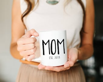 Gift for Mom, Mom Mug, Mothers Day Gift, Custom Mom Gift, Personalized Mothers Day, Gift for Her, New Mom Gift, cute mug, Gift for Her, Mug