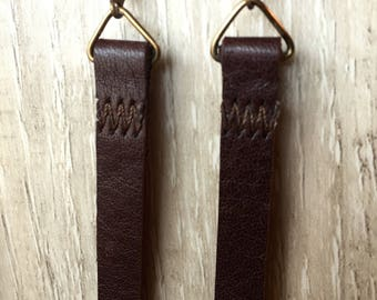 Dark Brown Long and Lean