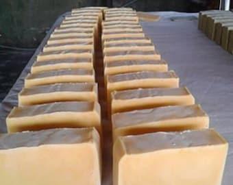 CARROT SOAP/ Fresh carrot/ coconut oil/ shea butter / fresh aloe vera/vegan soap