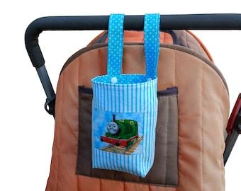 Baby Bottle Holder // Water Bottle Holder for bike, cot & pram / stroller - Percy - Thomas The Tank Engine