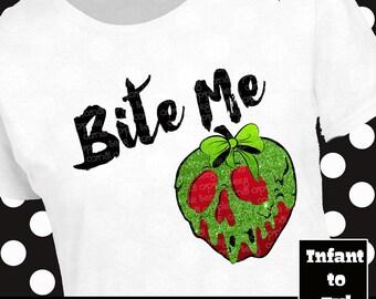 Poison Apple Shirt, Poison Apple Tank, Rotten Apple Shirt, Rotten Apple Tank, Evil Queen Shirt, Evil Queen Tank, Villain Apple Shirt