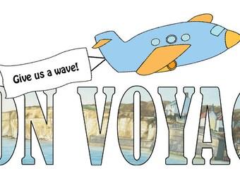 Bon Voyage Card - Give us a Wave