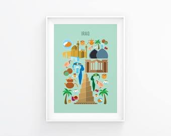 Iraq print