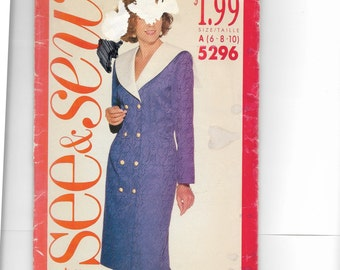 Butterick Misses' Dress Pattern 5296