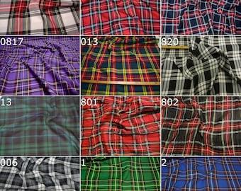"Original Scottish Tartan plaid, ""Fabrics-City"""