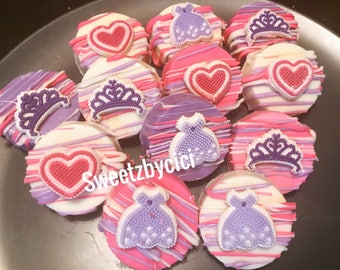 Sofia the First Inspired Oreos