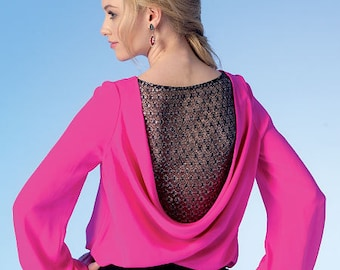 OUT of PRINT McCall's Pattern M7051 Misses' Tops
