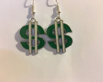 Dollar Sign  Earrings  J20
