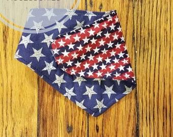 Forth of july bandana, 4 of july bandana, patriotic bandana, paytiotic dog bandana, dog bandana, cat bandanas, pet accessories, dogs collara