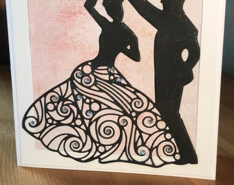 Wedding Dance Card