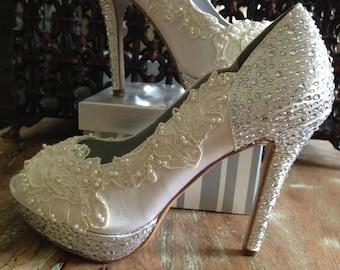 Bling wedding shoes | Etsy