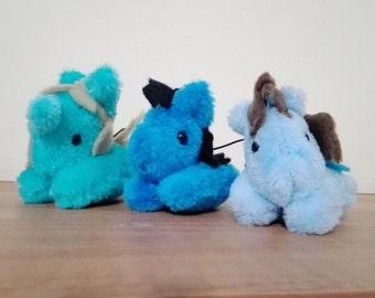 Mini ponies plushie 2inch