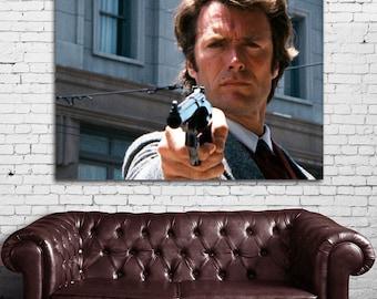 01 Clint Eastwood Dirty Harry Print