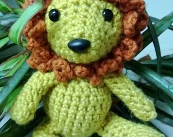 Easy Lion Crochet  Pattern.