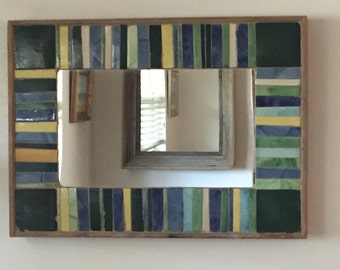 Mexican Tile Mirror