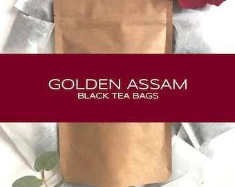 Golden Assam Indian Black Tea Bags