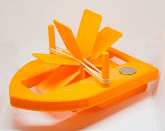3D Printed Gift | Paddle Boat | Bathtub | Shower Toys | Birthday | Kids Toys | Bubble Bath