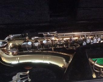 Buescher Aristocrat Alto Saxophone Early 1970's