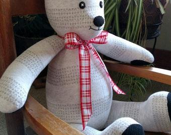 Valentine Memory Bear