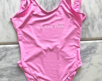 Rose All Day, Bachelorette Swimsuit, Bachelorette One Piece, One Piece Swimsuit, One Piece Swimsuits, Pink One Piece, Bachelorette Party