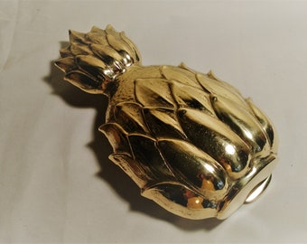 Brass pineapple door knocker , hollywood regency,French country, cottage