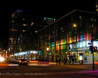 Palais des congrès by night - Fine Art Photography