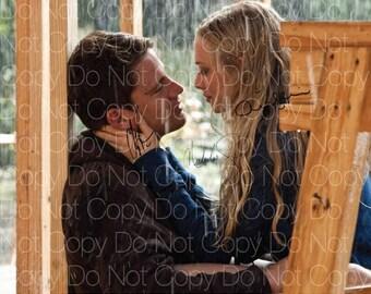 Dear John signed Channing Tatum Amanda Seyfried Nicholas Sparks 8X10 photo picture poster autograph RP