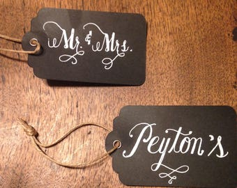 Gift Tags, invitations,placecards,custom pieces, favors, thank you cards, handwritten, handwriting service,